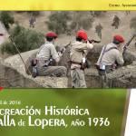 """Cartel de la """"Batalla de Lopera"""" 2016"""