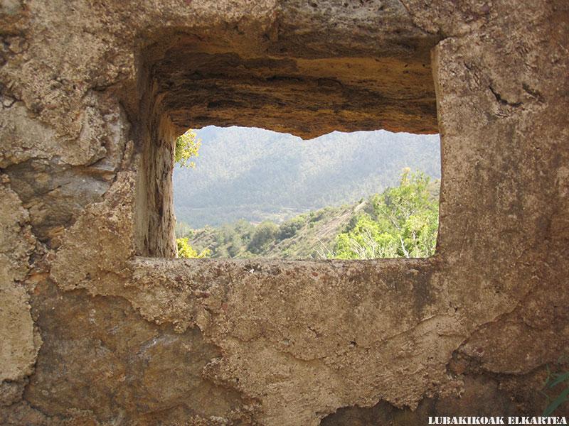 Posiciones defensivas de Las Tetas en la Serra d'Espadà - 09