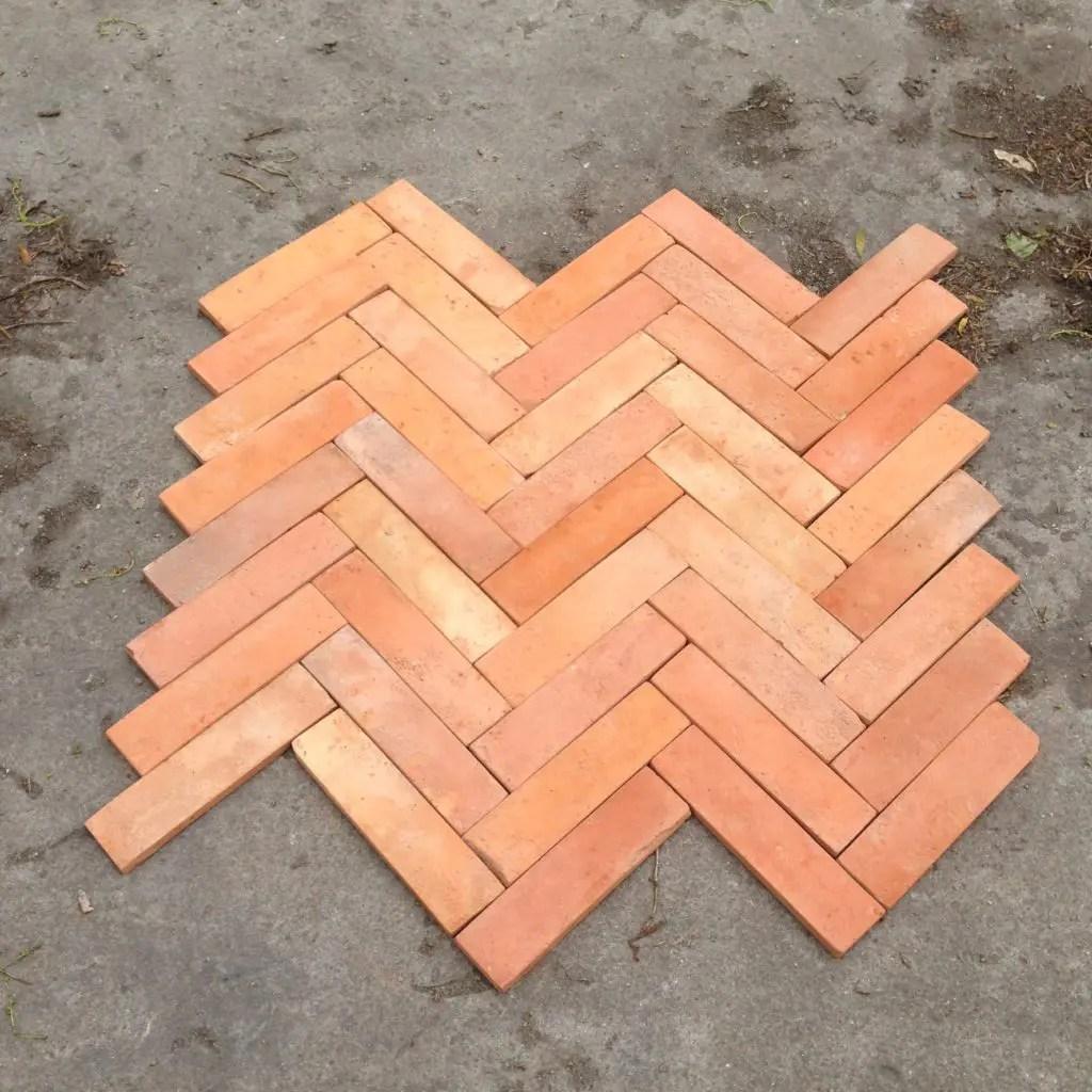 how to lay a brick tile floor lubelska