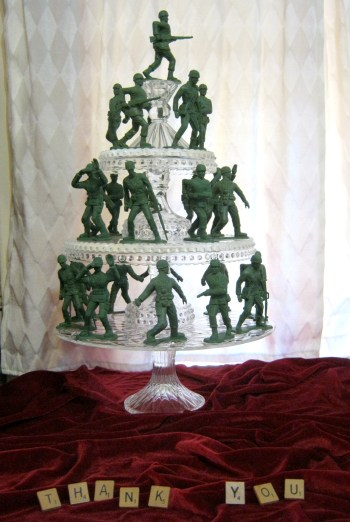 army men toy soldier christmas tree