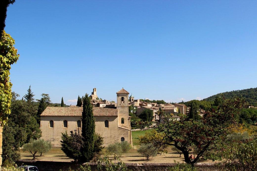 Temple et village de Lourmarin