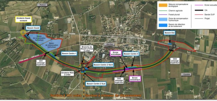 Luberon Nature s'oppose au projet actuel de déviation de Coustellet