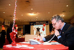 Rob Andrews making calls on Super Sunday