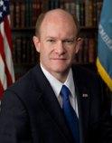 US Senator Chris Coons, D-Delaware