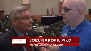 Economist Joel Naroff interviewed by Steve Lubetkin