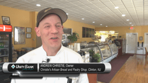 Andrew Christie, owner of Christie's Artisan Bread and Pastry, Clinton, NJ