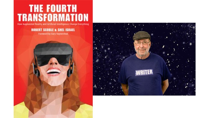 Shel Israel, right, discusses his latest book, The Fourth Transformation on this edition of the Middle Chamber Books and Music Podcast