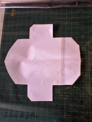 DIY pochette transparent lubies de filles 1