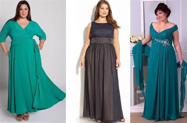 Вечерние платья для полных женщин | Примеры и правила выбора