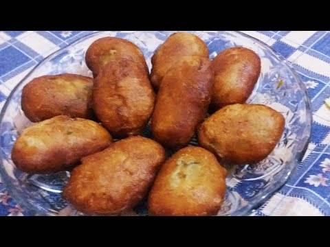 Жареные пирожки с картошкой как пушок, без преувеличения