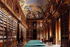 Klementinum-library