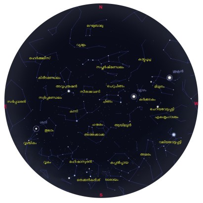 Star Map May 2015