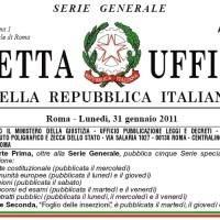 Open (data) Gazzetta Ufficiale