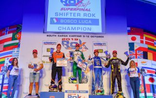 Luca Bosco World Champion 2019 ROK Cup Karting