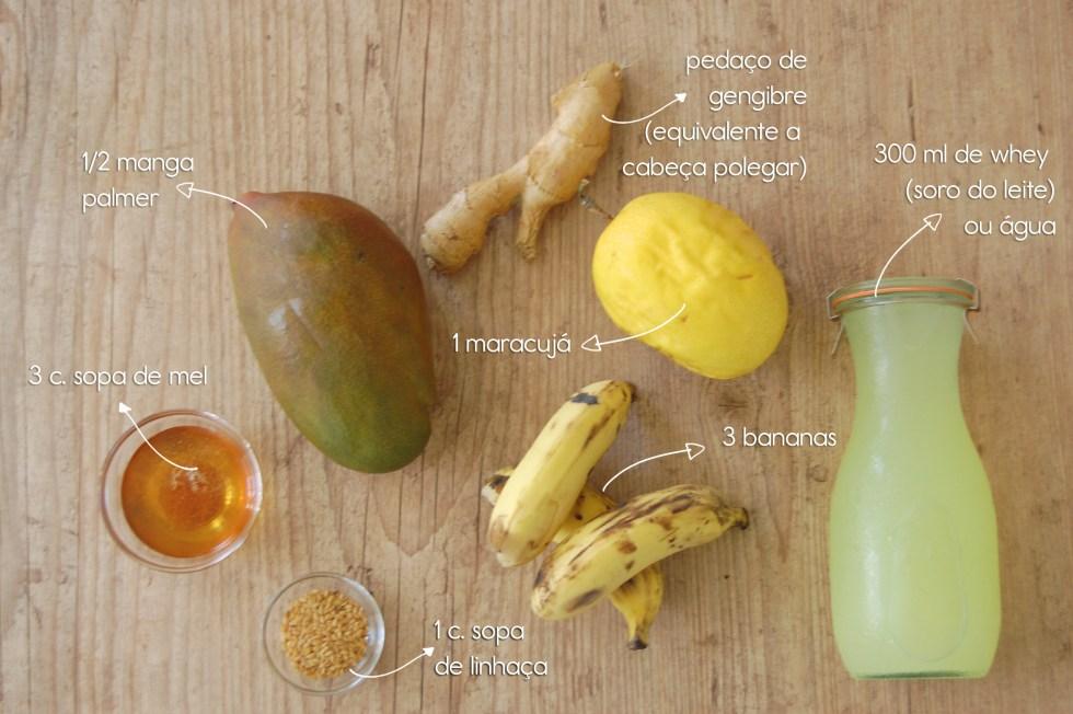Smoothie de frutas 3