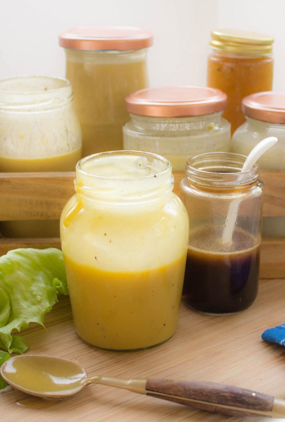 7 opções de Molhos de Salada