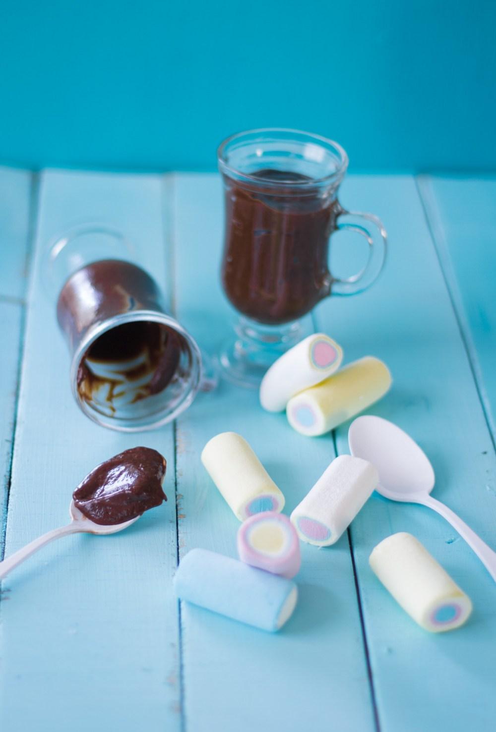 Mousse de chocolate Rapidinho
