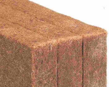 Esempio di pannello isolante in fibra di legno