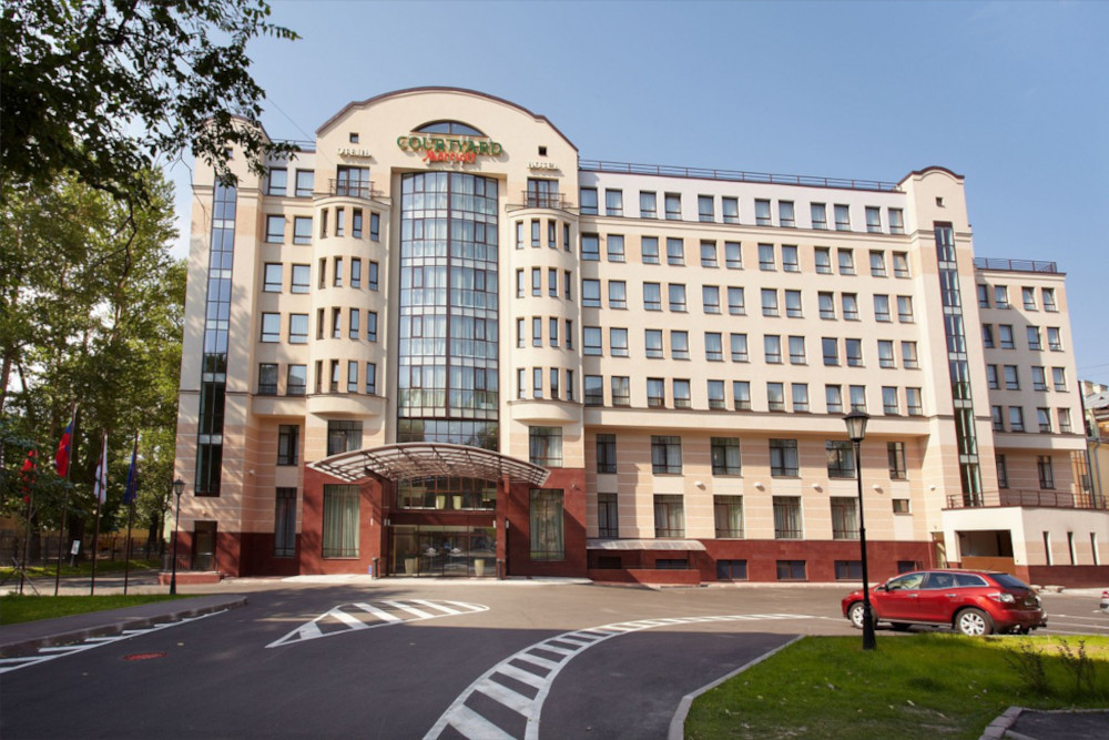courtyard by marriott st petersburg center