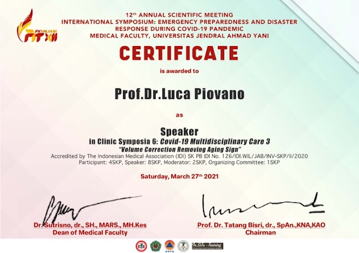12th annual scientific meeting international symposium