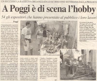 Centro Valle - Poggiridenti (domenica 17 settembre2000)