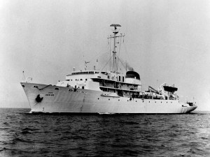 USNS_Silas_Bent_(T-AGS-26)_underway_c1965