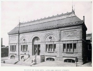 Saint Louis Museum of Fine Arts - 19th and Locust Street
