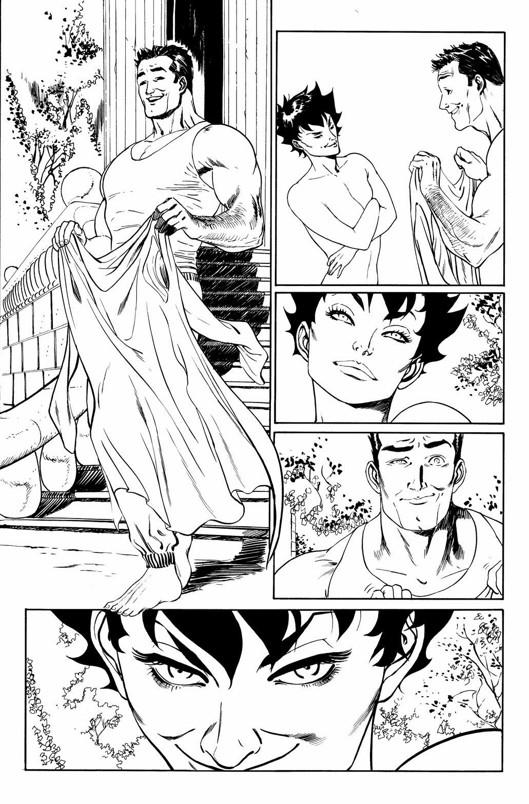 Catwoman 04 mais páginas invisíveis por guillem march