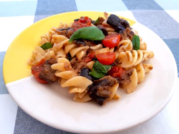 eggplant funghetto