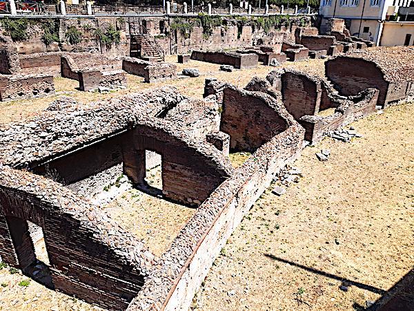 Ludus Magnus near Colosseum, Rome