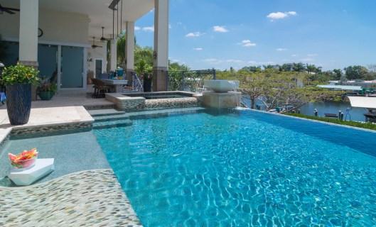 Bradenton custom pool builder insane pools custom water couch
