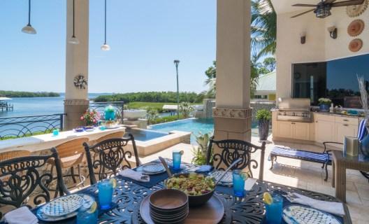 Bradenton custom pool builder insane pools custom outdoor dining