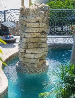 Bradenton custom pool builder insane pools custom rock sculpture