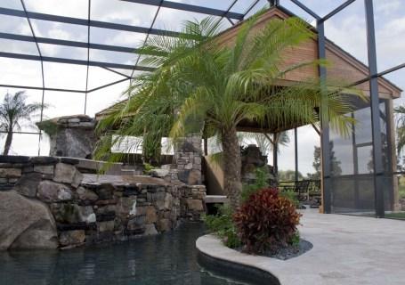 Lower pool area