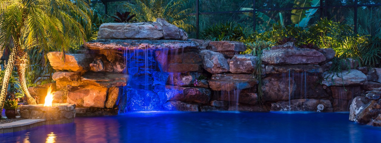 Lucas lagoons insane pools off the deep end for Zen pool design