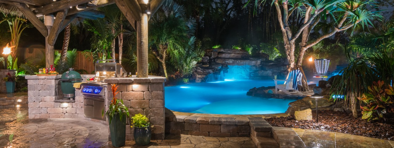 Lucas lagoons insane pools off the deep end for Pool design tampa