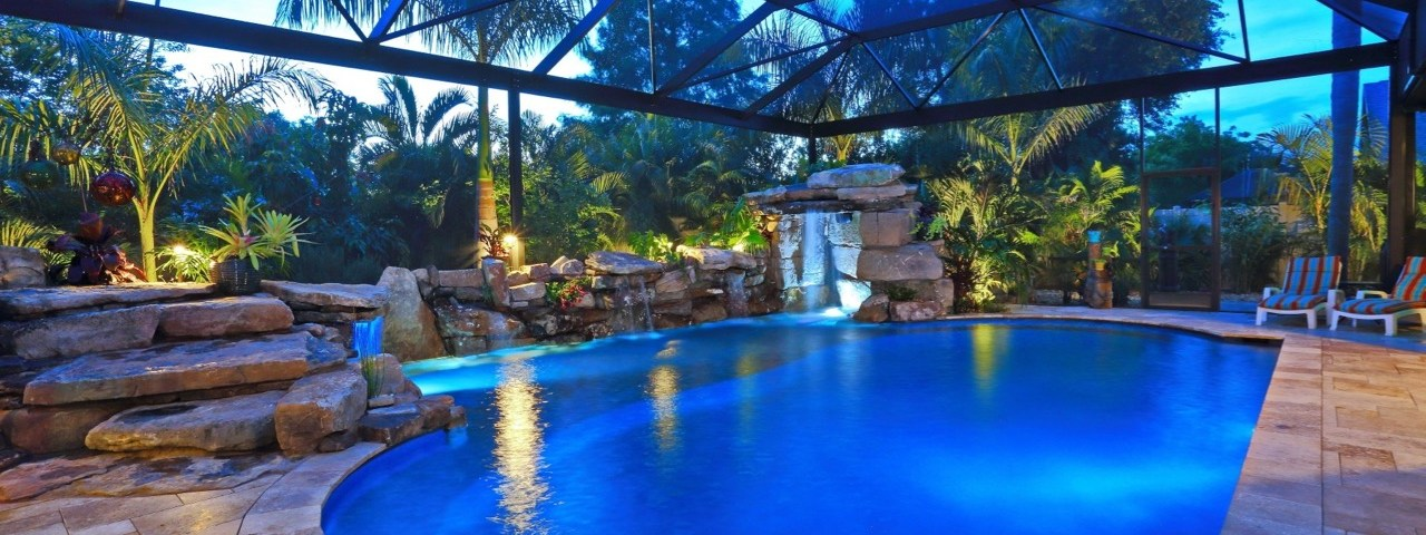 Natural Custom Pool grotto Sarasota