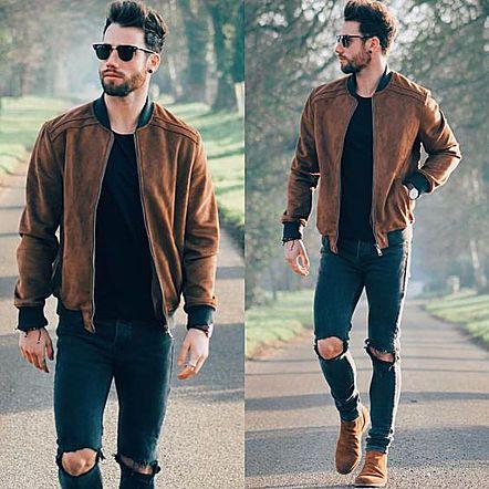 moda masculina - lucas maronesi - jaqueta bomber 18