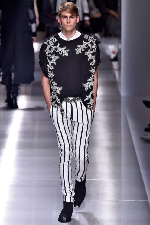 Balmain Homme Paris Menswear Spring Summer 2018 Paris June 2017- foto: Agencia Fotosite