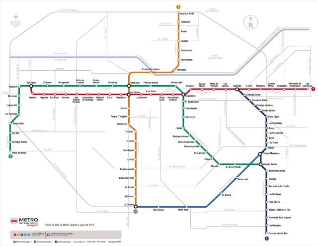 Plano de Red Metro