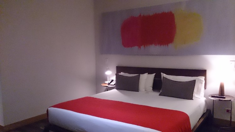 Vista habitacion Palo SAnto Hotel
