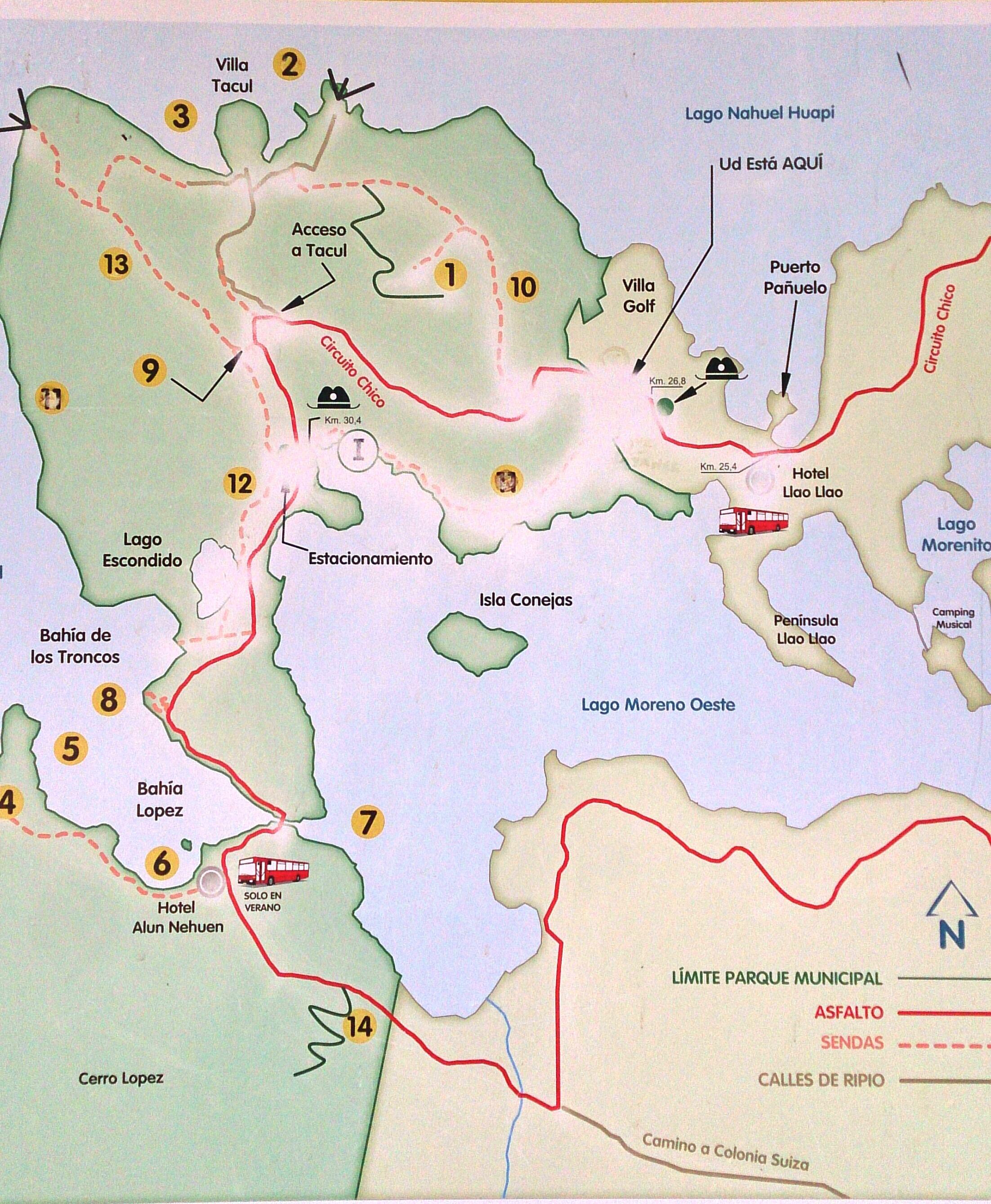 Circuito Grande Bariloche : Un clásico de bariloche u recorriendo circuito chico