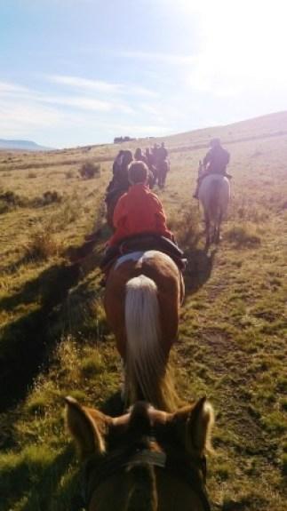 A caballo Cerro Frias Calafate