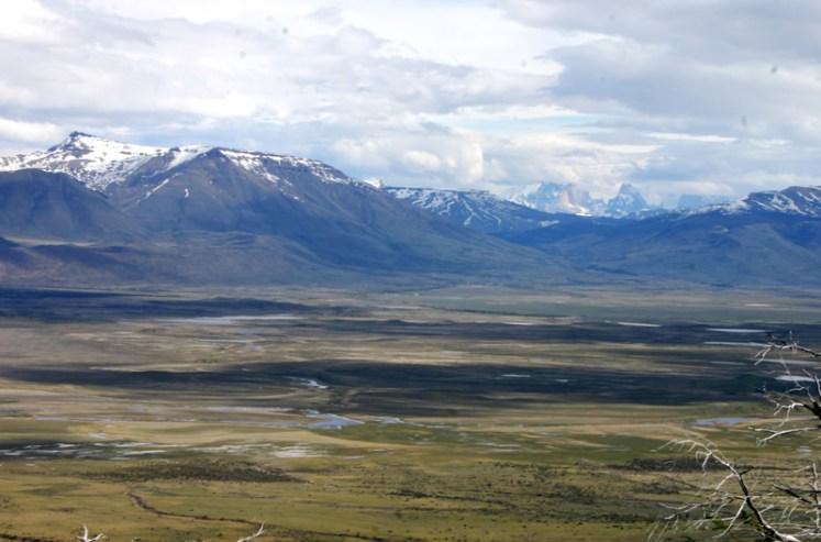 Vsta Cerro Frias Calafate Patagonia Argentina