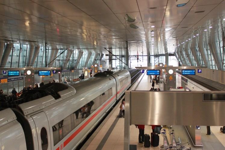 Estacion Frankfurt vista general
