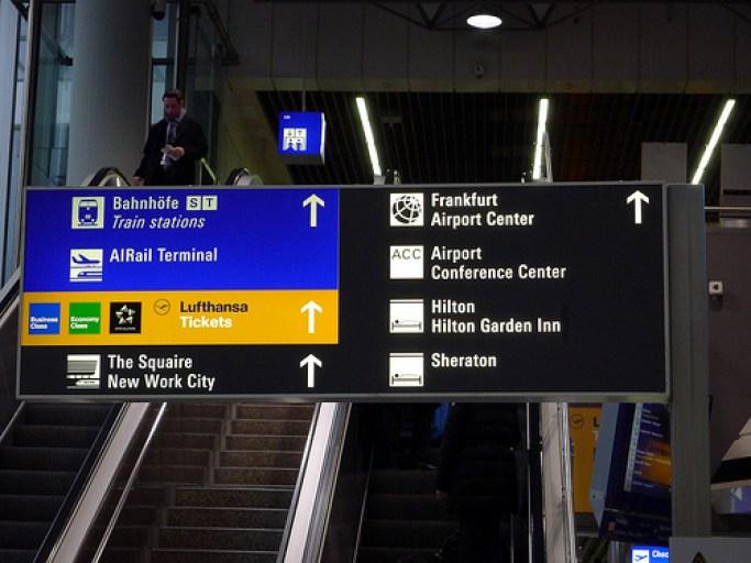 Inidicaciones conexion tren aeropuerto