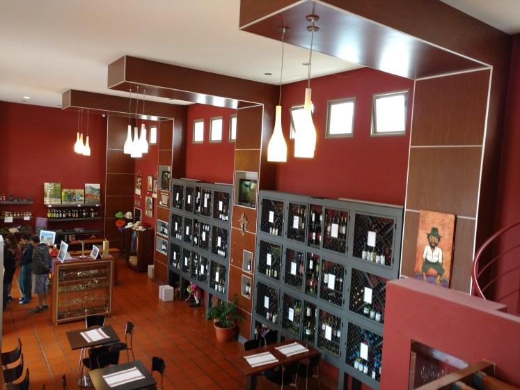 Museo del VINO Venta de artesanias