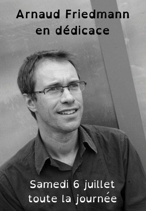Rencontre dédicace avec Arnaud Friedmann, auteur du Trésor de Sunthy