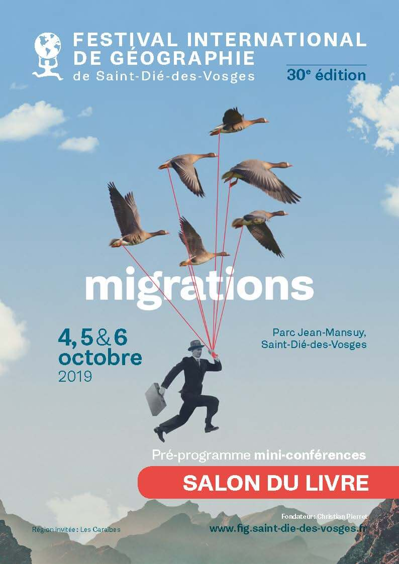 Affiche du Festival international de géographie