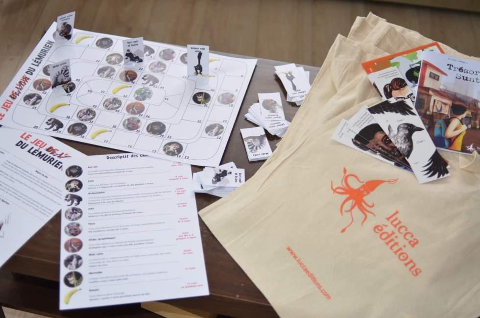 Tote-bags surprises spéciale lémuriens
